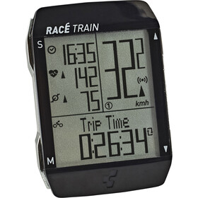 Cube Race Train Fietscomputer paar, black